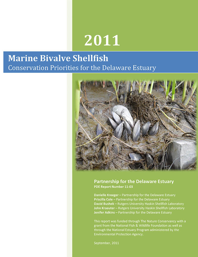 2011 Shellfish Priorities Report