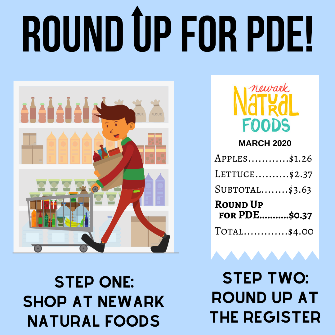 Round Up at Register for PDE