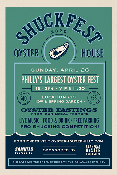 Shuckfest in April