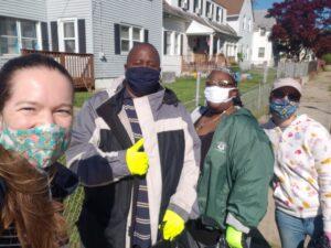 Christina Cleanup Volunteers